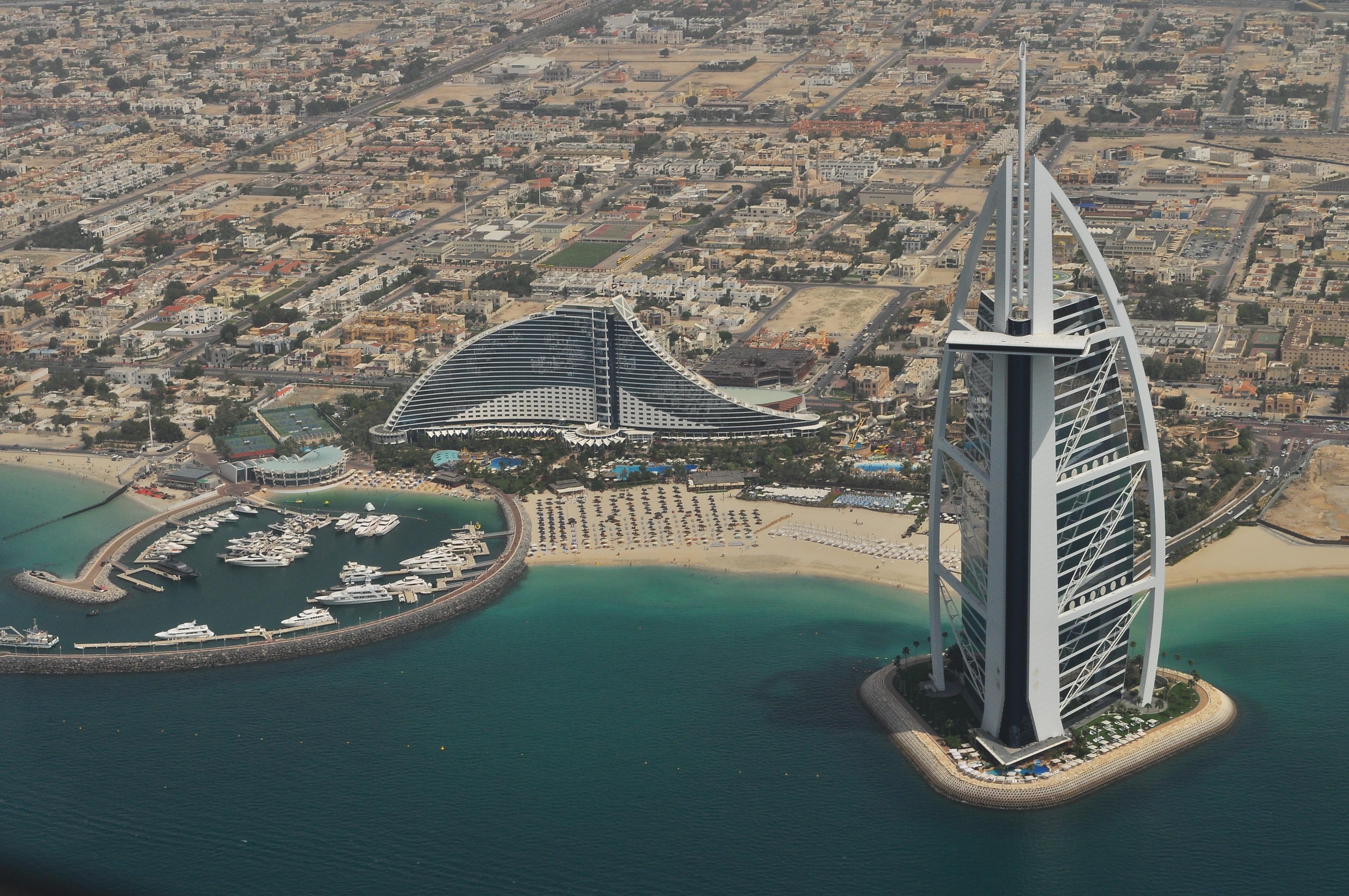 Arabische Emiraten huwelijksreis