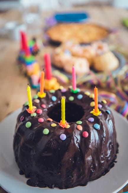 checklist voor kinderfeestjes taart