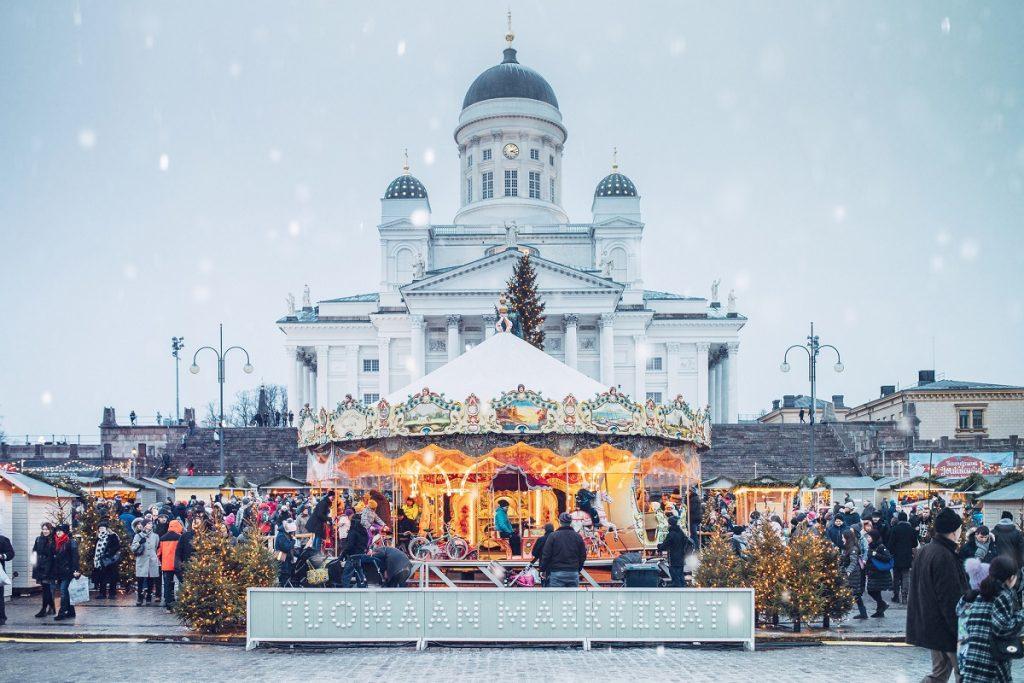kerstmarkten helsinki