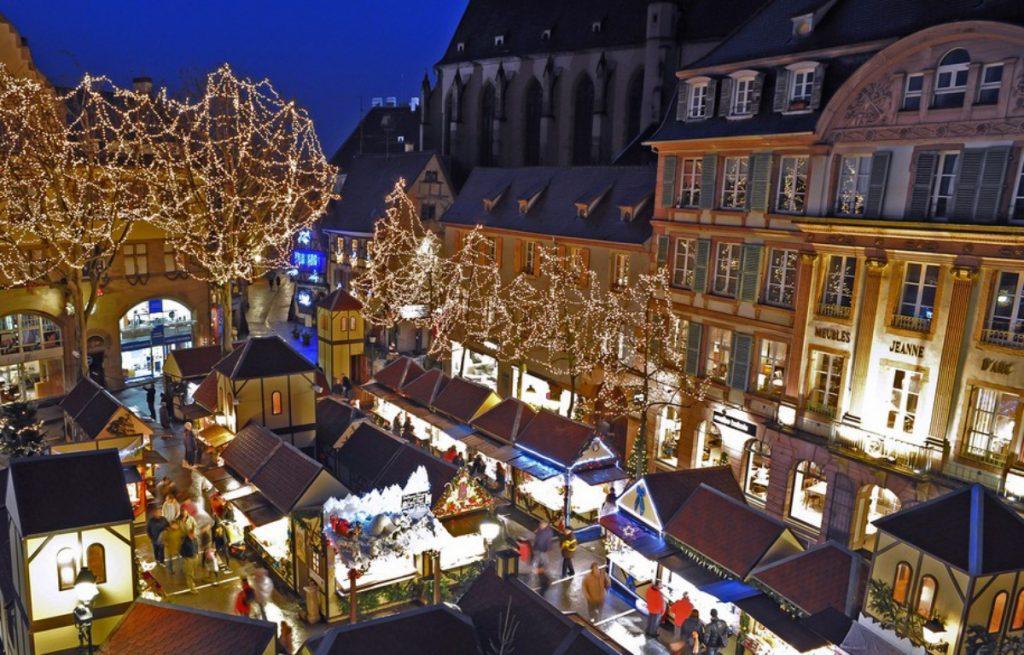 kerstmarkten colmar