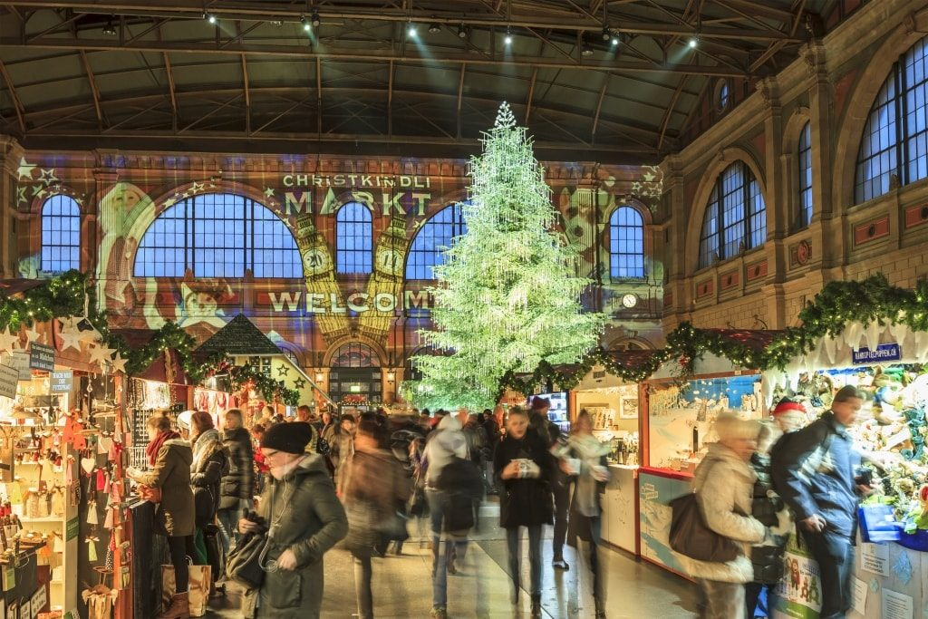 kerstmarkten zürich