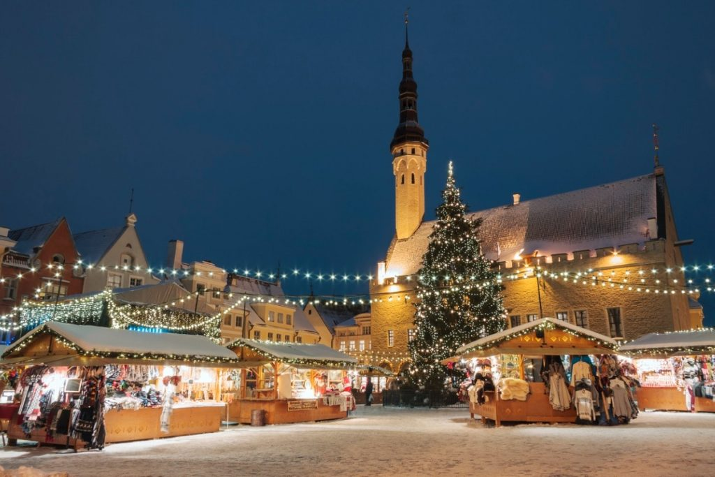 kerstmarkten tallinn