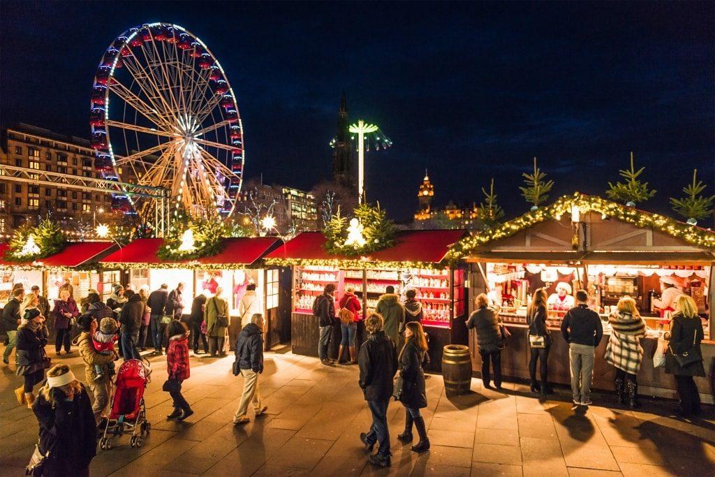 kerstmarkten edinburgh