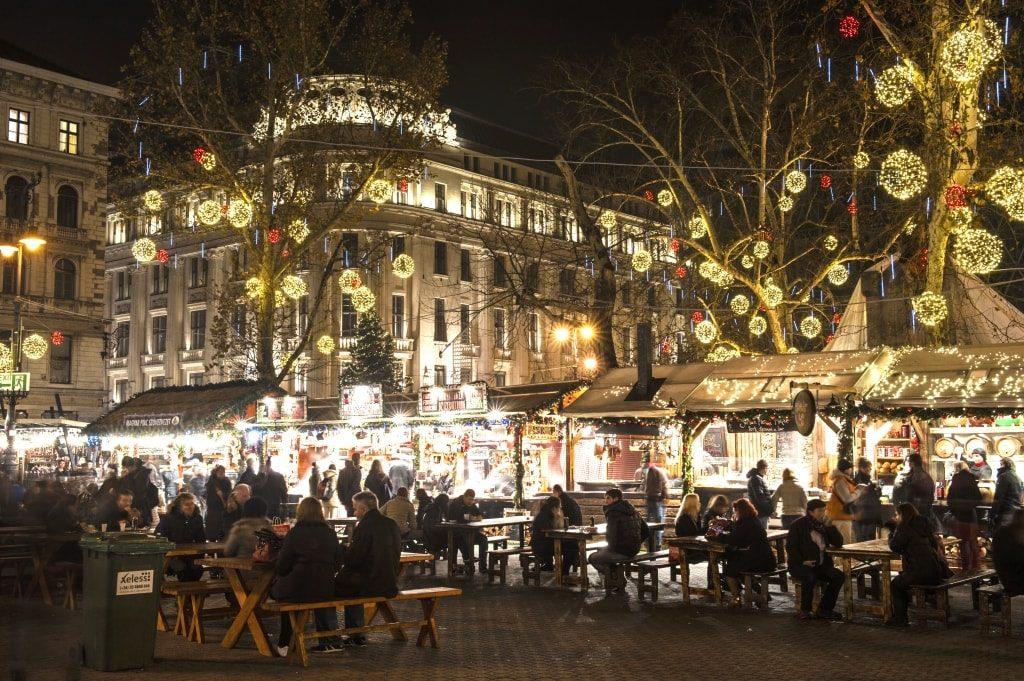 kerstmarkten budapest