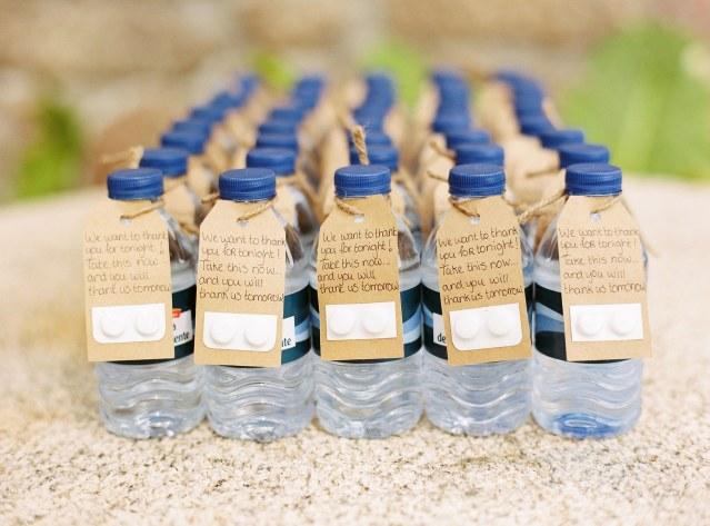 Originele huwelijk ideeën: kater water