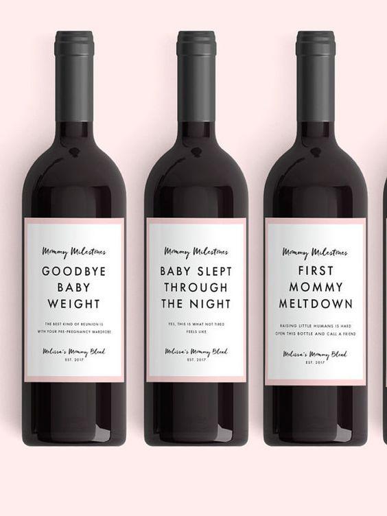 wijn geboorte