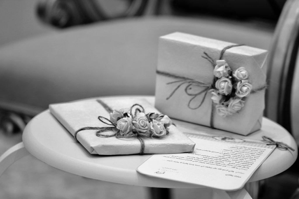 huwelijks cadeau koppel