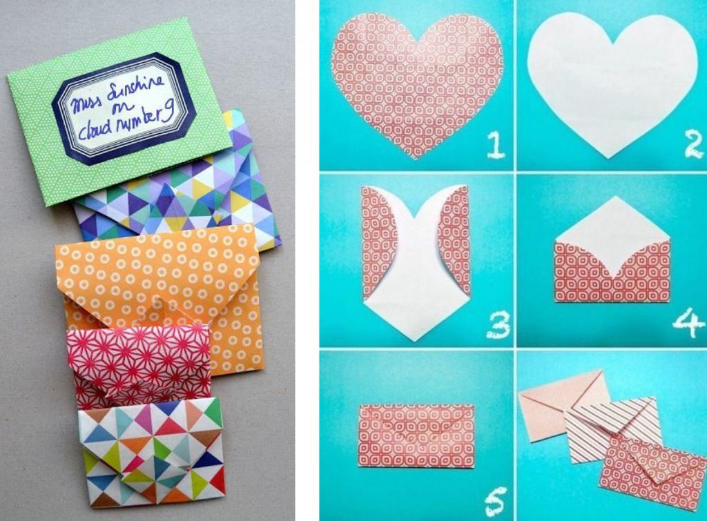 uitnodigingen voor een kinderfeestje DIY enveloppe