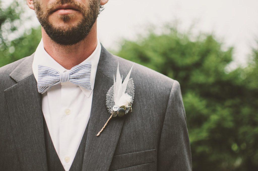 trouwen in deze hitte bruidegom