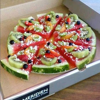 fruitpizza traktatie