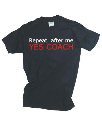 coach van de sportclub bedanken