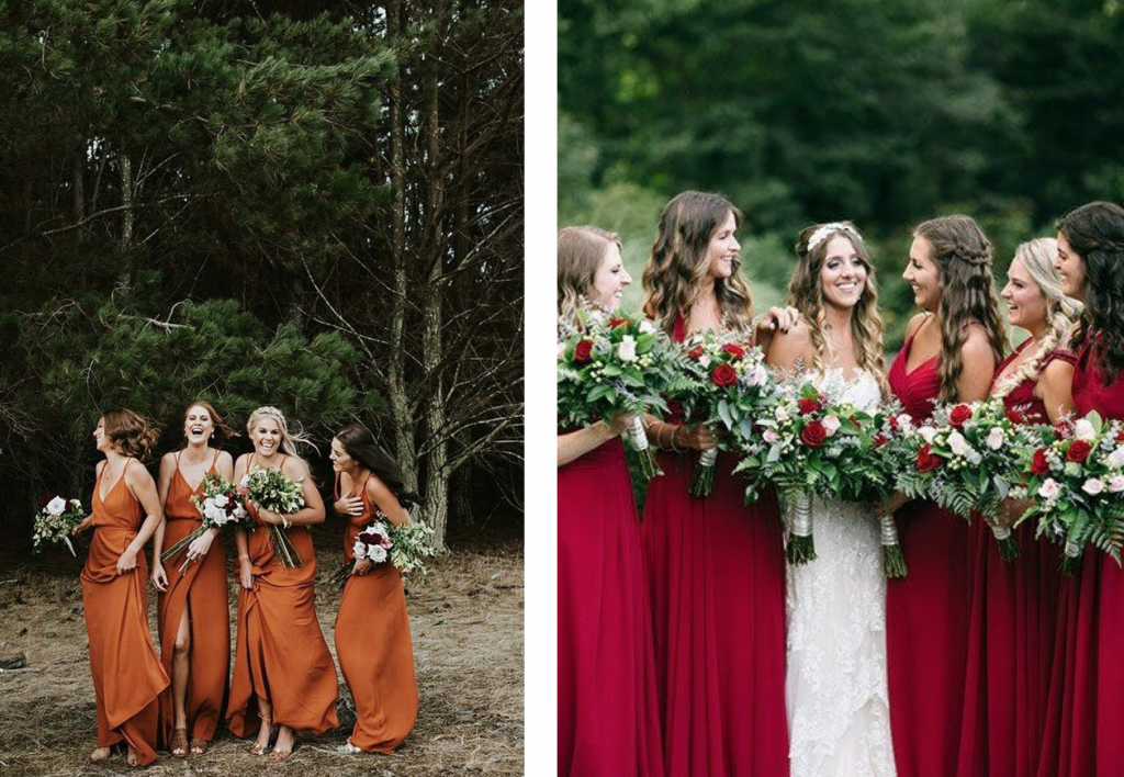 dresscode bruidsmeisjes
