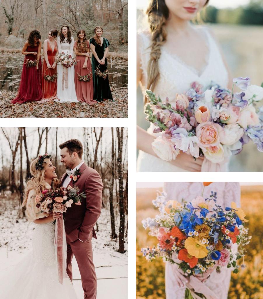 trouwen in seizoen