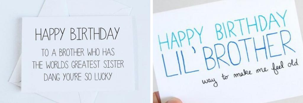 verjaardagscadeau voor je broer