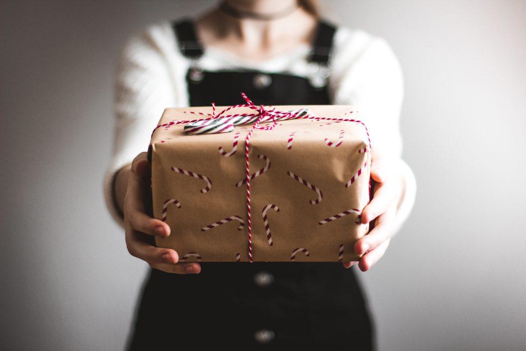 type cadeaugever